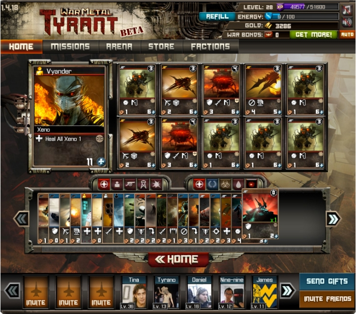 Tyrant Card Game is a Collectible Card Game